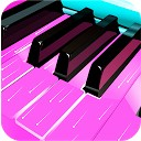 پیانوی واقعی صورتی