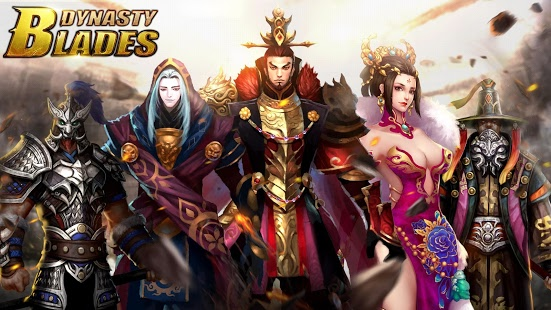 بازی اندروید خاندان شمشیر - جنگجویان - Dynasty Blades: Warriors MMO