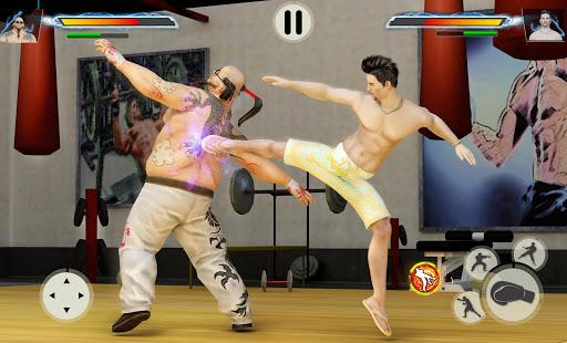 بازی اندروید مبارز واقعی - اندام واقعی مبارزه - Virtual Gym Fighting: Real BodyBuilders Fight