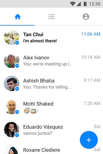نرم افزار اندروید مسنجر سبک - Messenger Lite