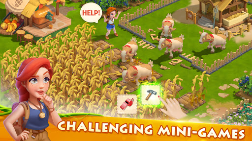 بازی اندروید ماجراجویی مزرعه خانوادگی - Family Farm Adventure