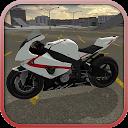راننده سریع موتور سیکلت