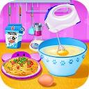 پخت پاستا در آشپزخانه