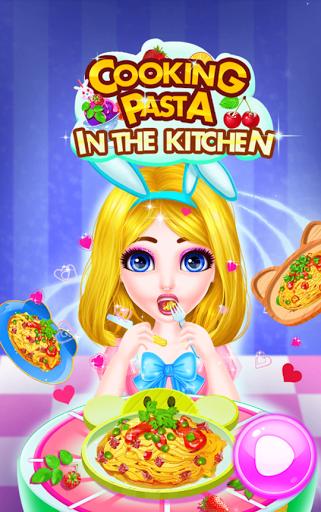 بازی اندروید پخت پاستا در آشپزخانه - Cooking Pasta In Kitchen