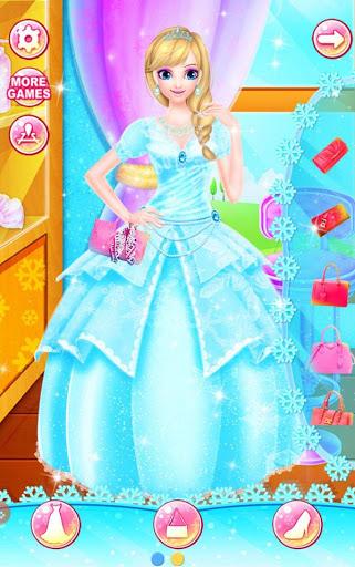 بازی اندروید سبک منجمد پرنسس - Princess Salon - Frozen Style