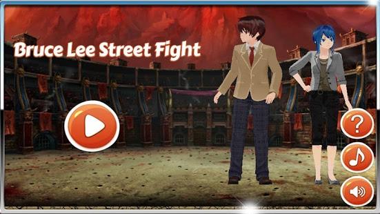 بازی اندروید مبارزه خیابانی بروسلی - Bruce Lee Street Fight