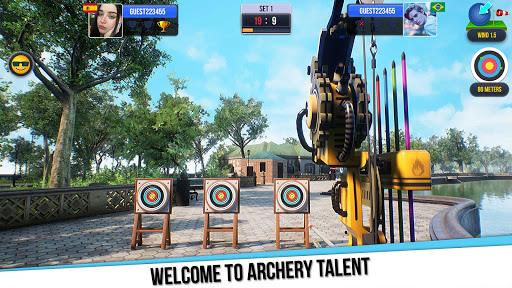 بازی اندروید استعداد تیراندازی با کمان - Archery Talent
