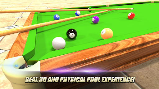 بازی اندروید بازی آنلاین بیلیارد - Real Pool 3D - Play Online in 8 Ball Pool