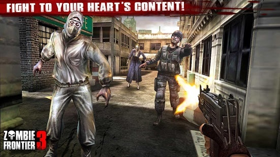 بازی اندروید مرز زامبی 3 - Zombie Frontier 3