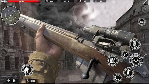 بازی اندروید دعوت تیرانداز به جنگ - وظیفه کانتر جنگ جهانی دوم - Call of Sniper War- Counter ww2 Duty Strike games