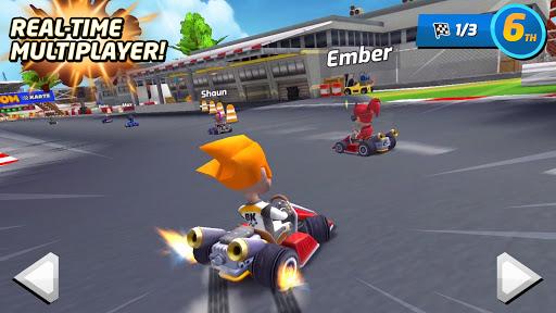 بازی اندروید غرش کارتینگ - مسابقه چند نفره - Boom Karts - Multiplayer Kart Racing