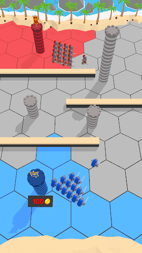بازی اندروید شهر راش - Town Rush