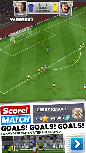 بازی اندروید فوتبال زنده - Score! Match