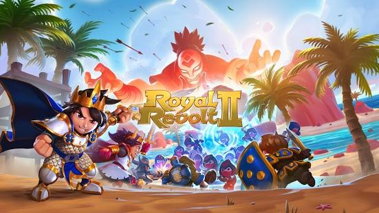 بازی اندروید شورش سلطنتی 2 - Royal Revolt 2