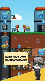بازی اندروید تاجر معدن بیکار - Idle Miner Tycoon
