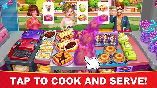 بازی اندروید پخت و پز داغ  آشپز دیوانه - Cooking Hot - Crazy Chef's Kitchen Cooking Games