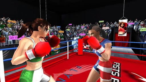 بازی اندروید مشت زن برای مبارزه - Woman Fists For Fighting WFx3
