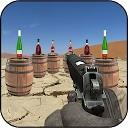 تیراندازی به بطری هدف