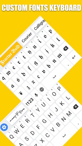 نرم افزار اندروید کیبورد فونت - Fonts Keyboard - Text Fonts & Emoji