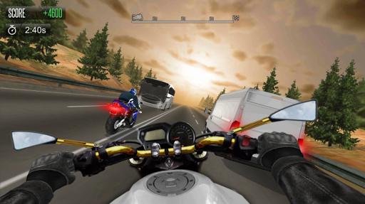 بازی اندروید شبیه ساز رقابت موتور - Bike Simulator 2 Moto Race Game