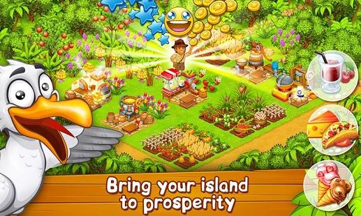 بازی اندروید مزرعه بهشتی - Farm Paradise: Hay Island Bay