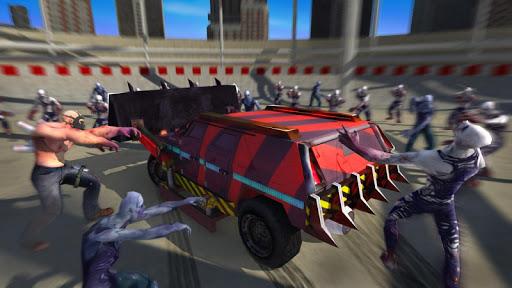 بازی اندروید سر و صدا زامبی - جاده کشتن - Zombie Smash : Road Kill