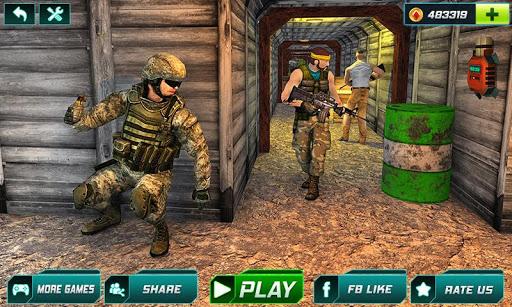 بازی اندروید ضربه بحرانی تفنگ 2020 - شلیک تفنگ - Critical Gun Strike 2020: FPS Gun Shooting