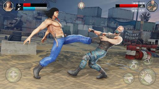 بازی اندروید بازی جنگی ارتش آمریکا - میدان نبرد کاراته کونگ فو - US Army Fighting Games: Kung Fu Karate Battlefield
