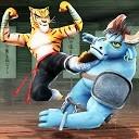 مبارزه کونگ فو حیوانات - مبارز وحشی کاراته