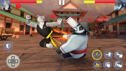 بازی اندروید مبارزه کونگ فو حیوانات - مبارز وحشی کاراته - Kung Fu Animal Fighting Games: Wild Karate Fighter