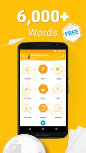 نرم افزار اندروید یادگیری عربی - 6000 کلمه - Learn Arabic - 6,000 Words