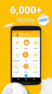 نرم افزار اندروید یادگیری زبان انگلیسی - Learn English 6,000 Words