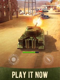 بازی اندروید جنگ تانک ها - War Machines Tank Shooter Game