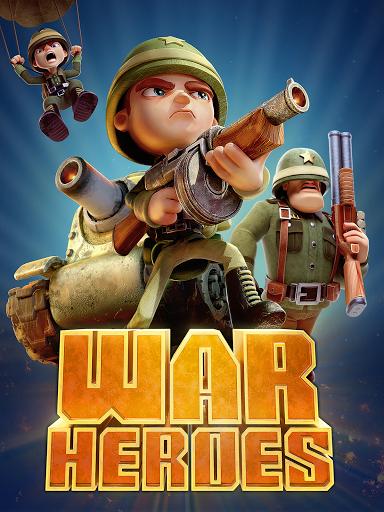 بازی اندروید قهرمانان جنگ - مبارزه سرگرم کننده - War Heroes: Fun Action for Free