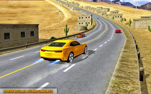 بازی اندروید مسابقه دیوانه ماشین در ترافیک - Crazy Car Traffic Racing Games 2019