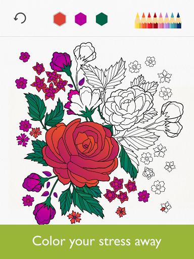 نرم افزار اندروید کالریفای - کتاب رنگ آمیزی - Colorfy - Coloring Book Free
