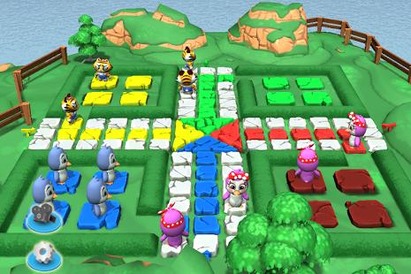 بازی اندروید منچ سه بعدی - Ludo 3D Multiplayer