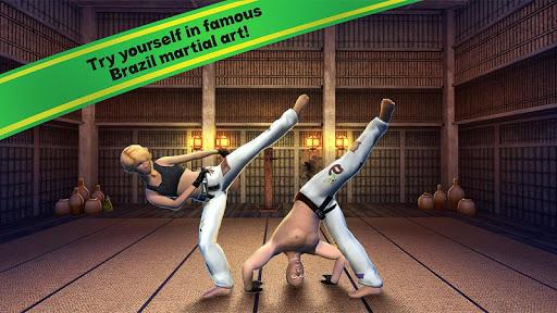 بازی اندروید مبارزات برزیلی - Capoeira Sports Fighting 3D