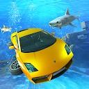 مسابقه پرواز اتومبیل  سواری زیر آب