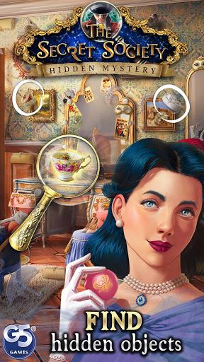 بازی اندروید جامعه راز - رمز و راز پنهان - The Secret Society - Hidden Mystery