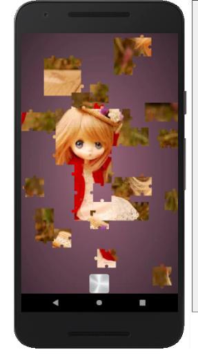 بازی اندروید پازل عروسک های زیبا - Cute Dolls Jigsaw And Slide Puzzle Game