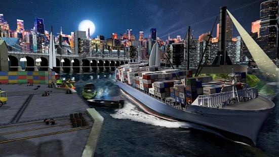 بازی اندروید شبیه ساز کشتی - Ship Games Simulator