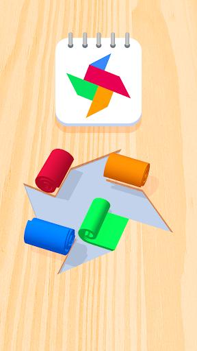 بازی اندروید رول رنگ - Color Roll 3D