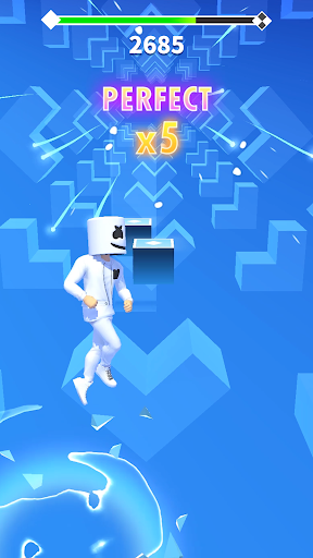 بازی اندروید رقص موسیقی مارشملو - Marshmello Music Dance