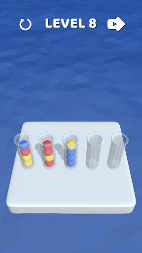 بازی اندروید مرتب کردن به صورت سه بعدی - Sort It 3D