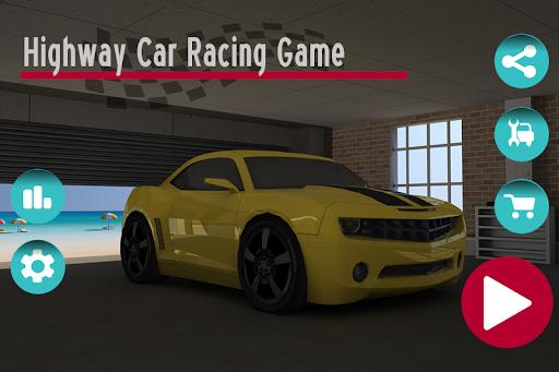 بازی اندروید  رانندگی در بزرگراه - Highway Car Racing Game