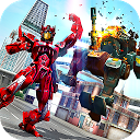 نبرد قهرمان ربات هیولای شهر