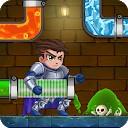 نجات قهرمان لوله - پازل آب