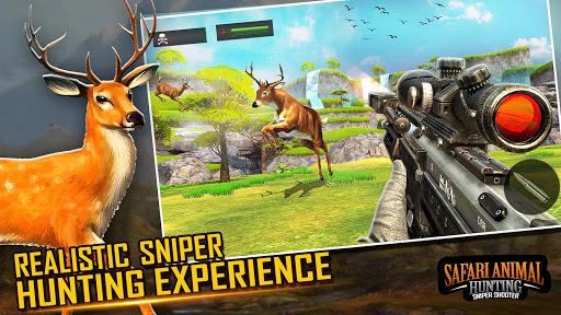 بازی اندروید شکارچی حیوانات وحشی کوه  2020 - Wild Animal Sniper Deer Hunting Games 2020