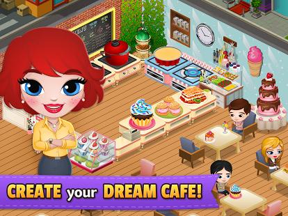 بازی اندروید سرزمین رستوران - دنیای آشپزخانه - Cafeland - World Kitchen